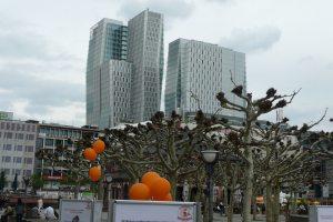 Frankfurt modern architecture